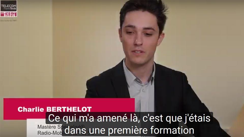 MS IoT : Charlie Berthelot