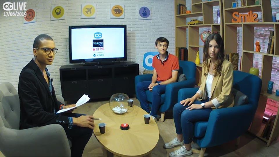 Admissibles : nos étudiant·e·s en direct sur Campus Channel