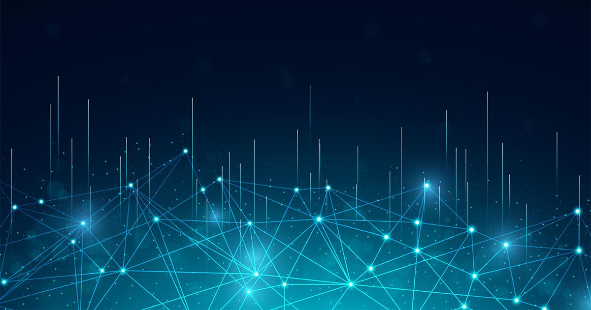 illustration abstraite Big Data Freepik