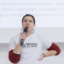 Céline Monthéard, la Fresque du Climat