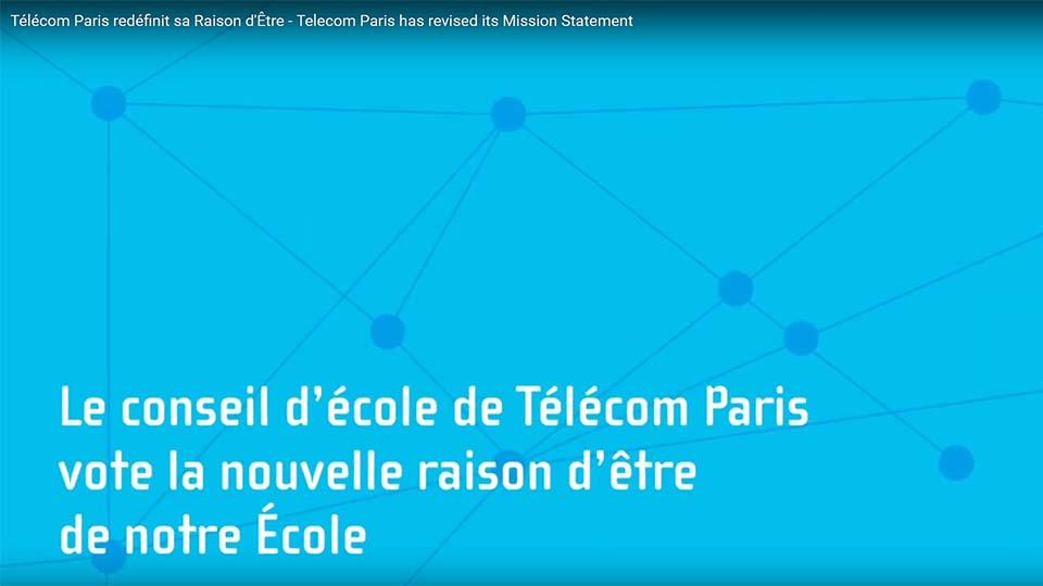 Télécom Paris redéfinit sa raison d'être