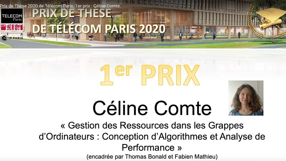Prix de thèse 1 : Céline Comte