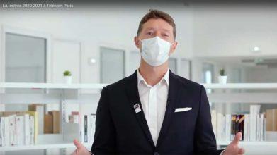 Une rentrée particulière : message de Nicolas Glady, directeur de Télécom Paris