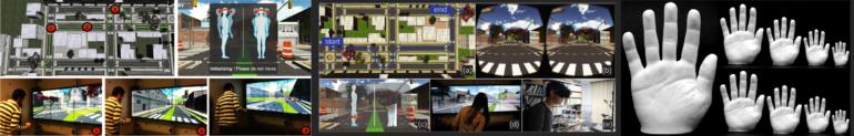 Vision, virtual reality and 3D printing results