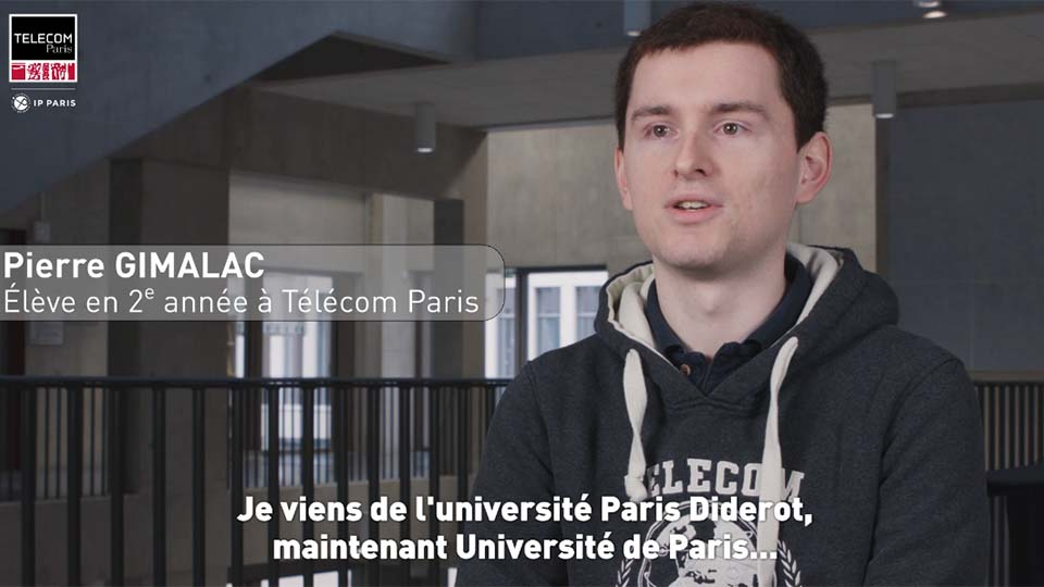 Témoignage de Pierre Gimalac, admis par voie universitaire